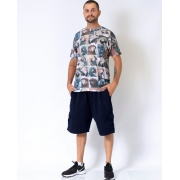 T-Shirt Quadro Araras