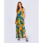 Vestido Longo Arara Summer Det Arrastão