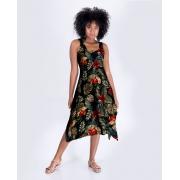 Vestido Midi Araras Caju