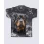 T-Shirt  Rottweiler Tie Dye