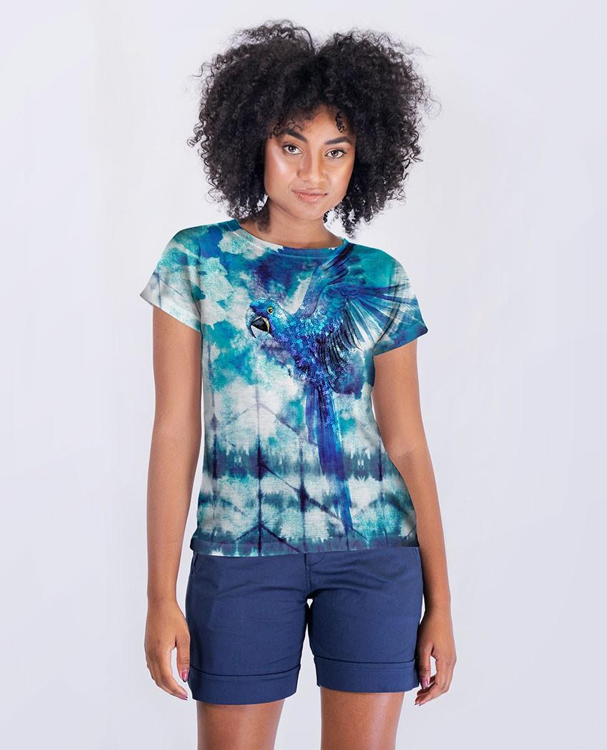 Blusa Arara Azul Tie Dye