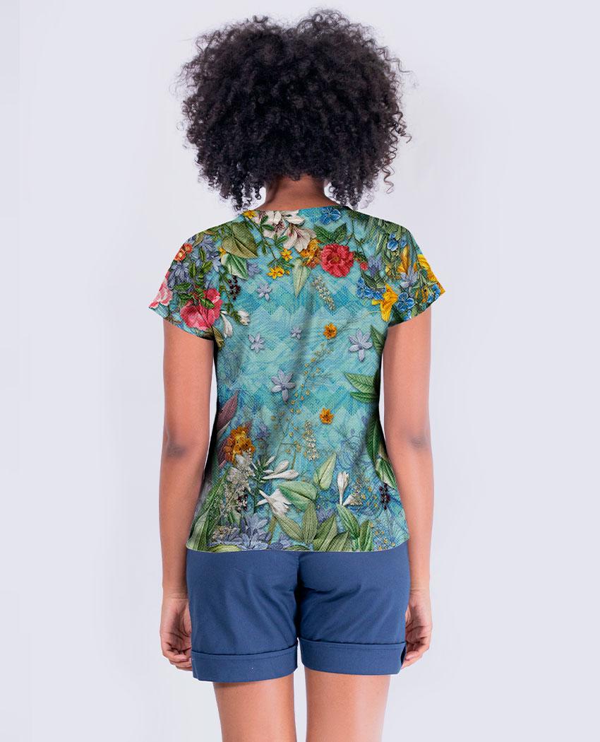 Blusa Beija-Flores Brilho