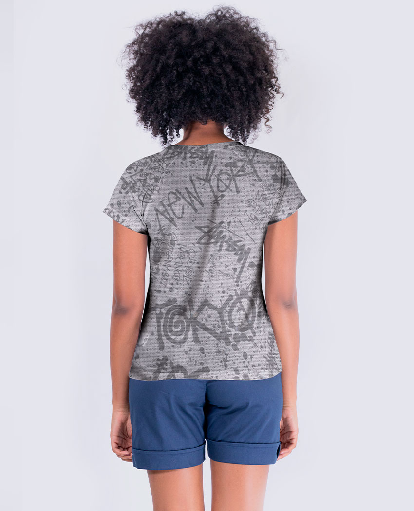 Blusa Fashion York Brilho