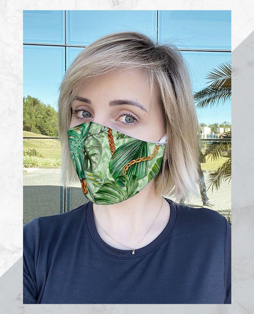 Blusa + Máscara Arara Correntes