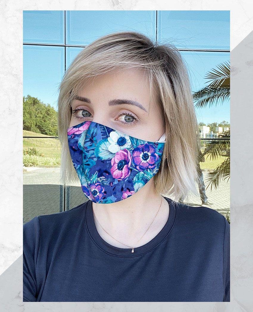 Blusa + Máscara Araras Glamour