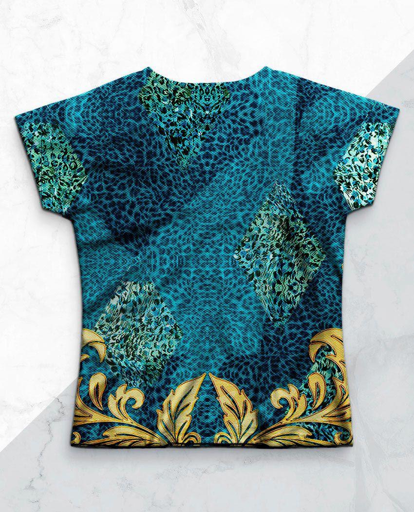 Blusa Onça Azul