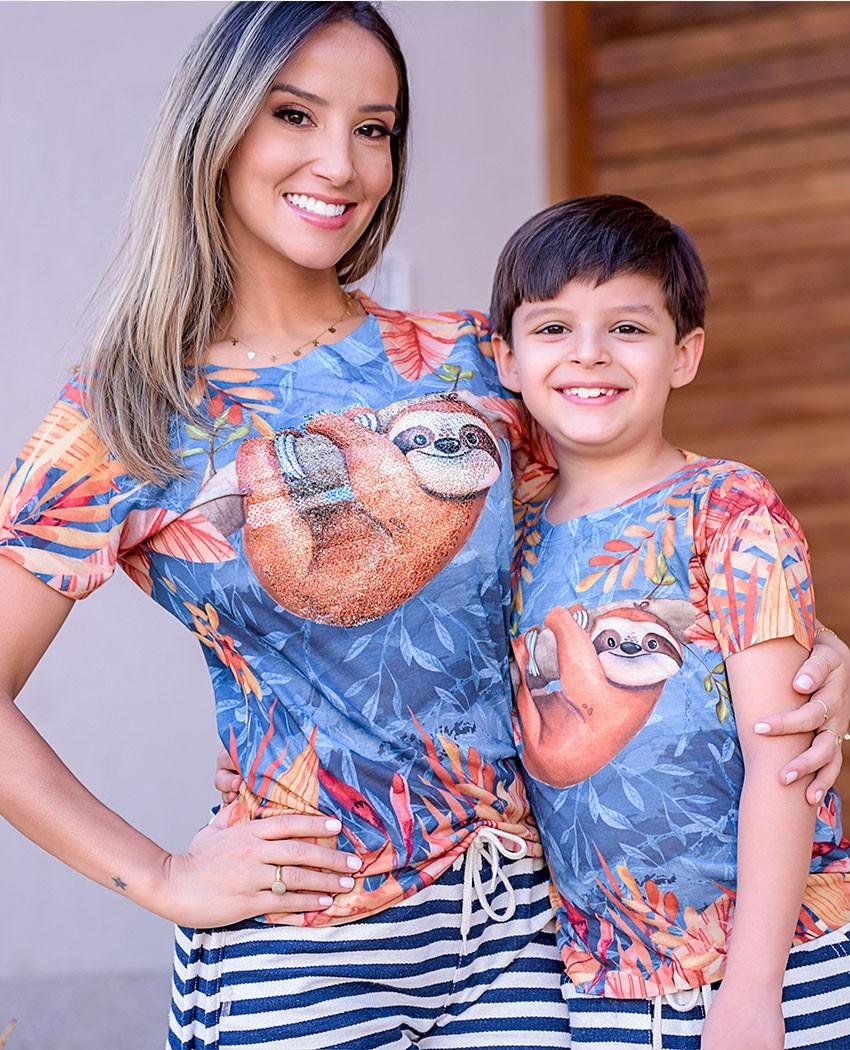 Blusa Preguicinha Brilho