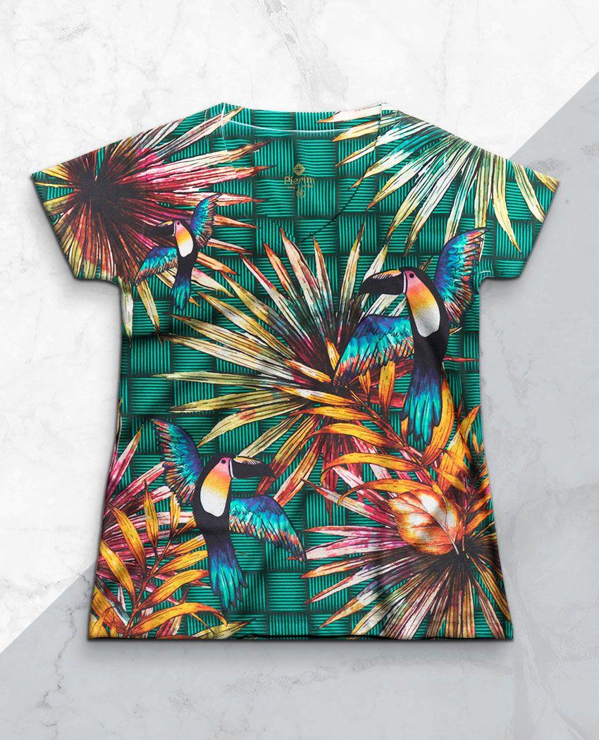 Blusa Tucanos Coloridos Dec V