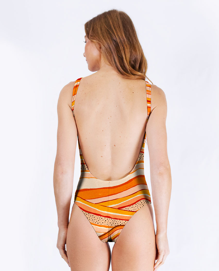 Bodysuit Mar de Areia Dec. Costas