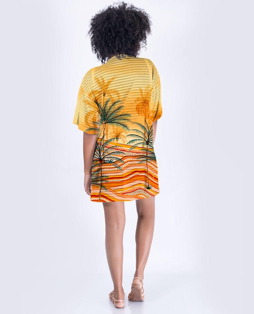 Kimono Curto Mar de Areia