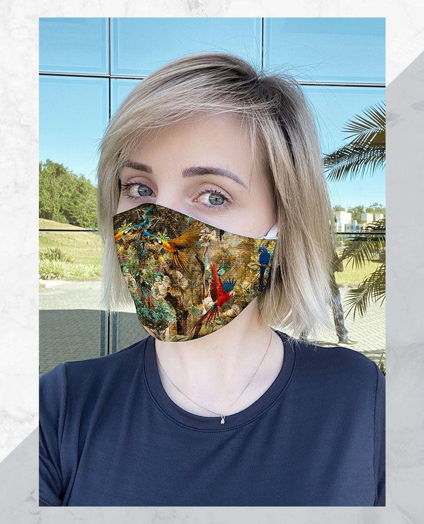 Máscara Anatômica Araras