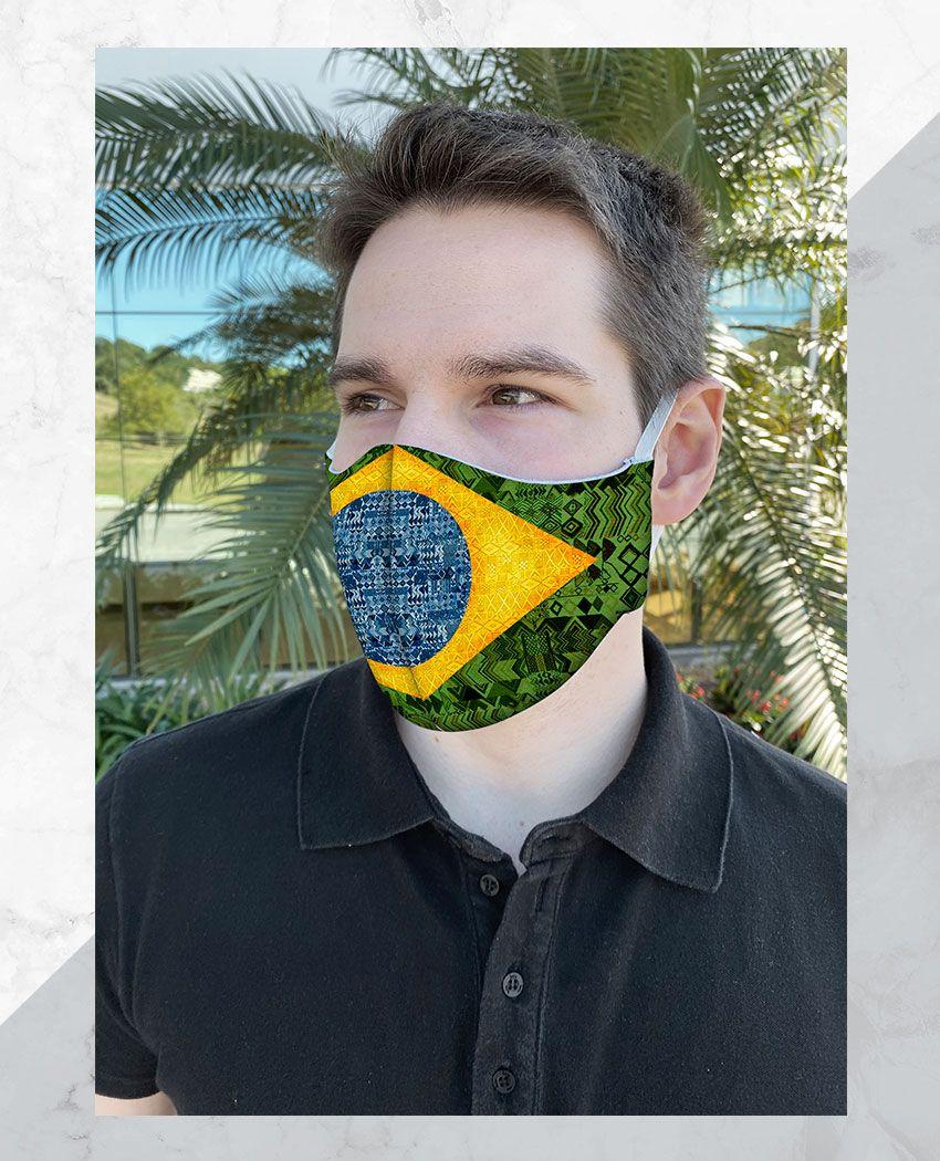Máscara Anatômica Brasil
