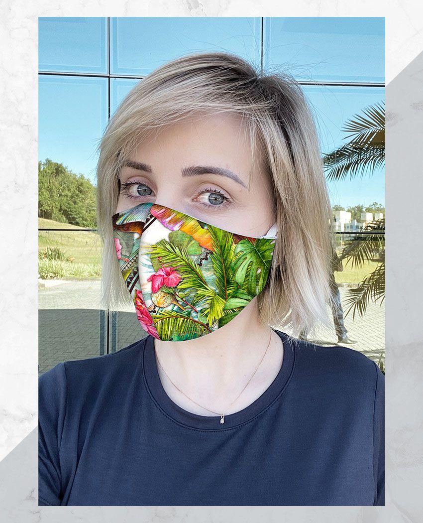 Máscara Anatômica Floresta