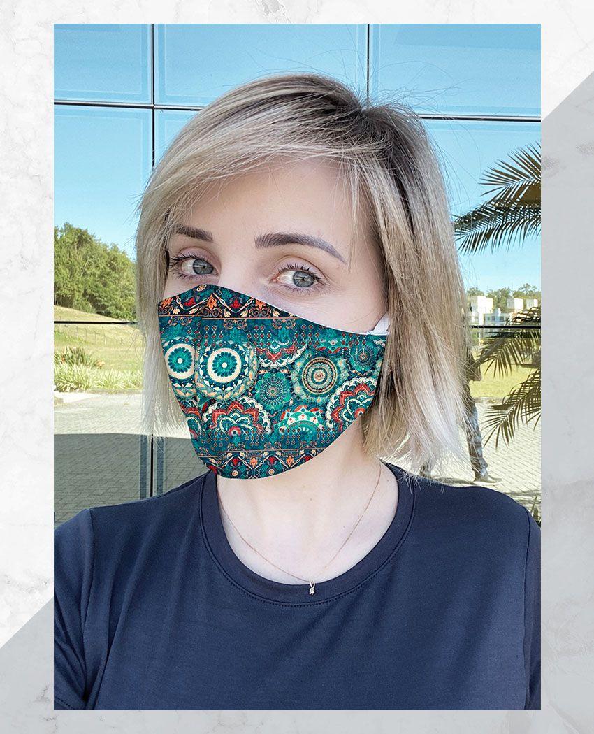 Máscara Anatômica Mandalas