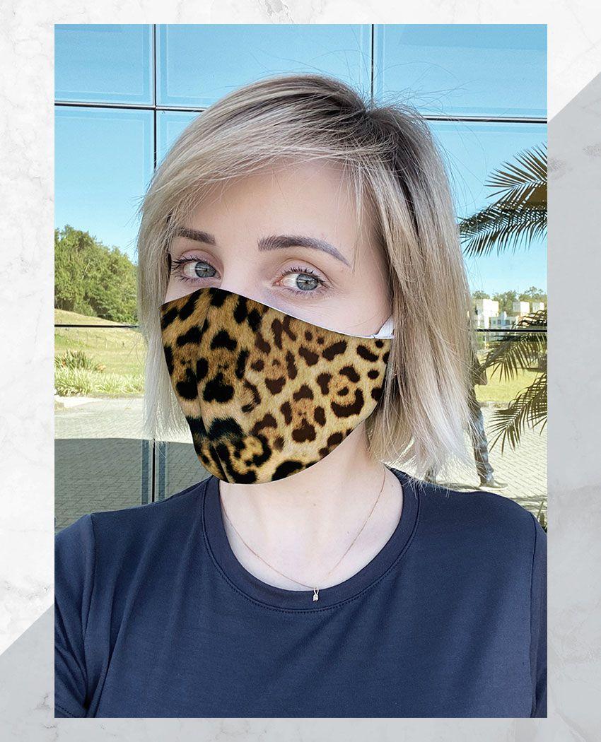 Máscara Anatômica Onça