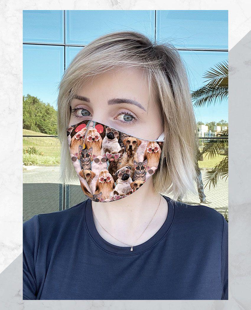 Máscara Anatômica Pets