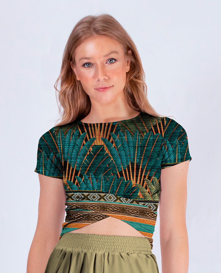 Saia + Cropped Tribal Penas