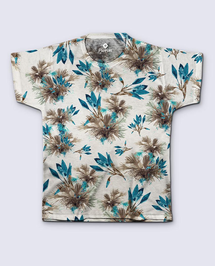 T-Shirt Blue Palms