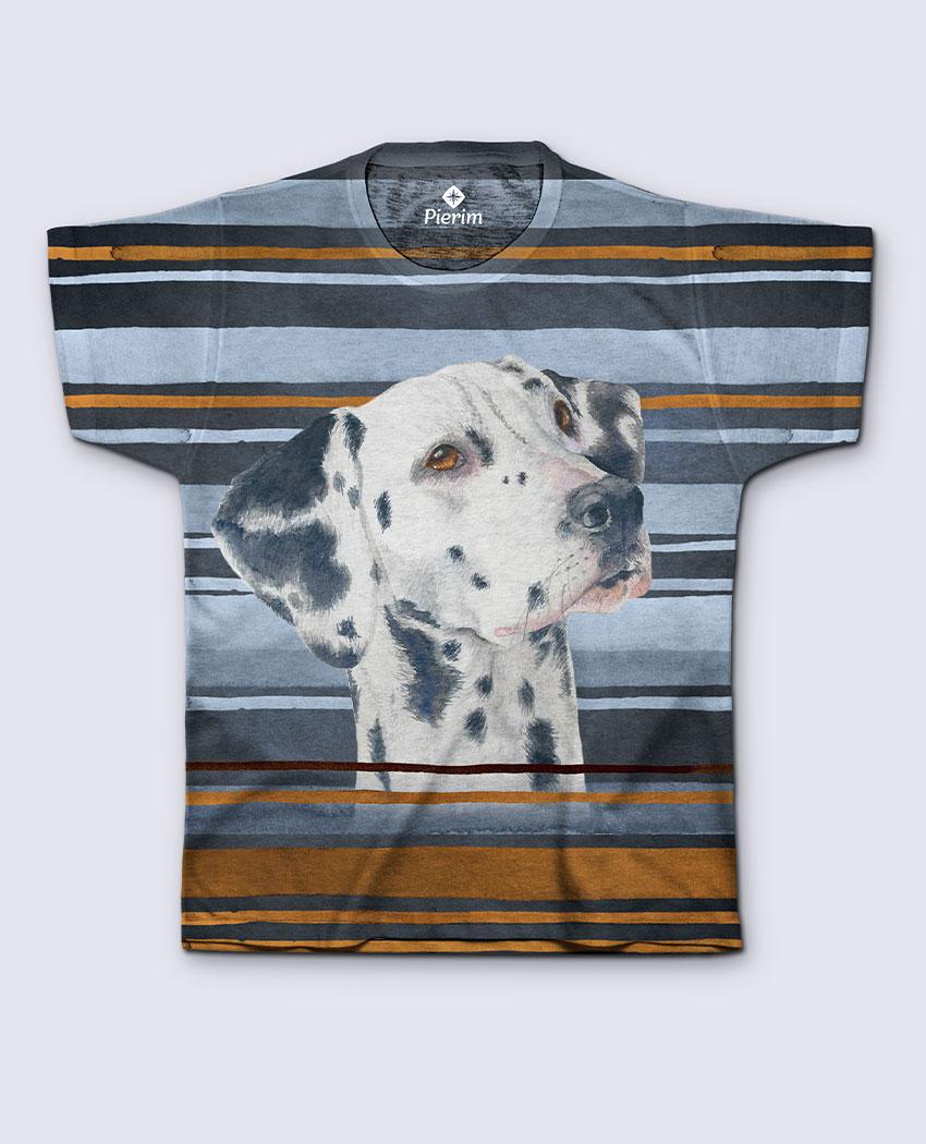 T-Shirt Dálmata Listras
