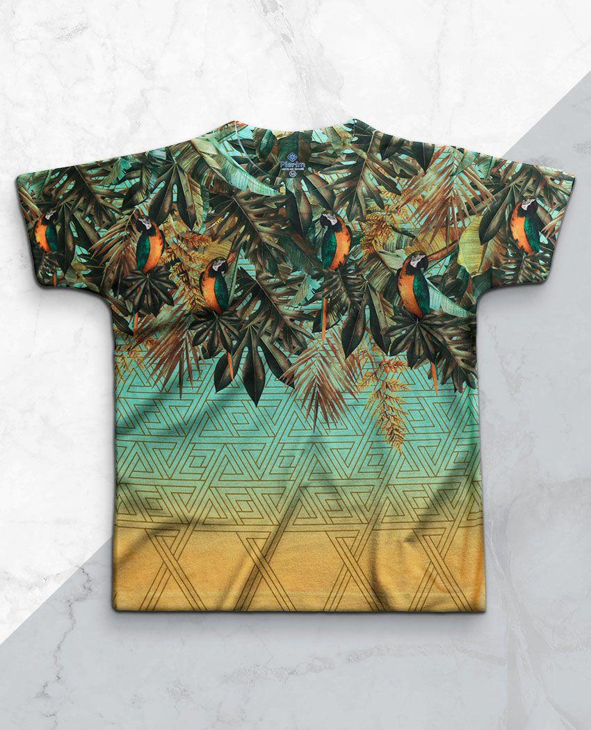 T-Shirt Folhas Araras