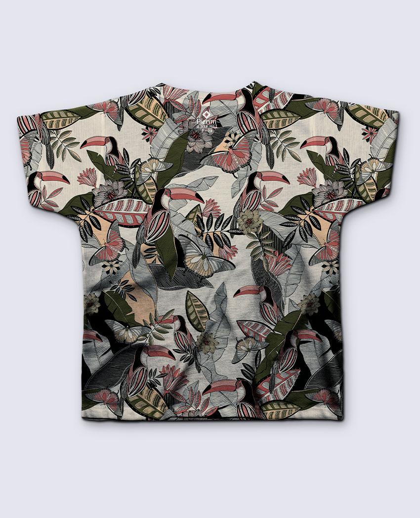 T-shirt Infantil Tucanos Xilogravura
