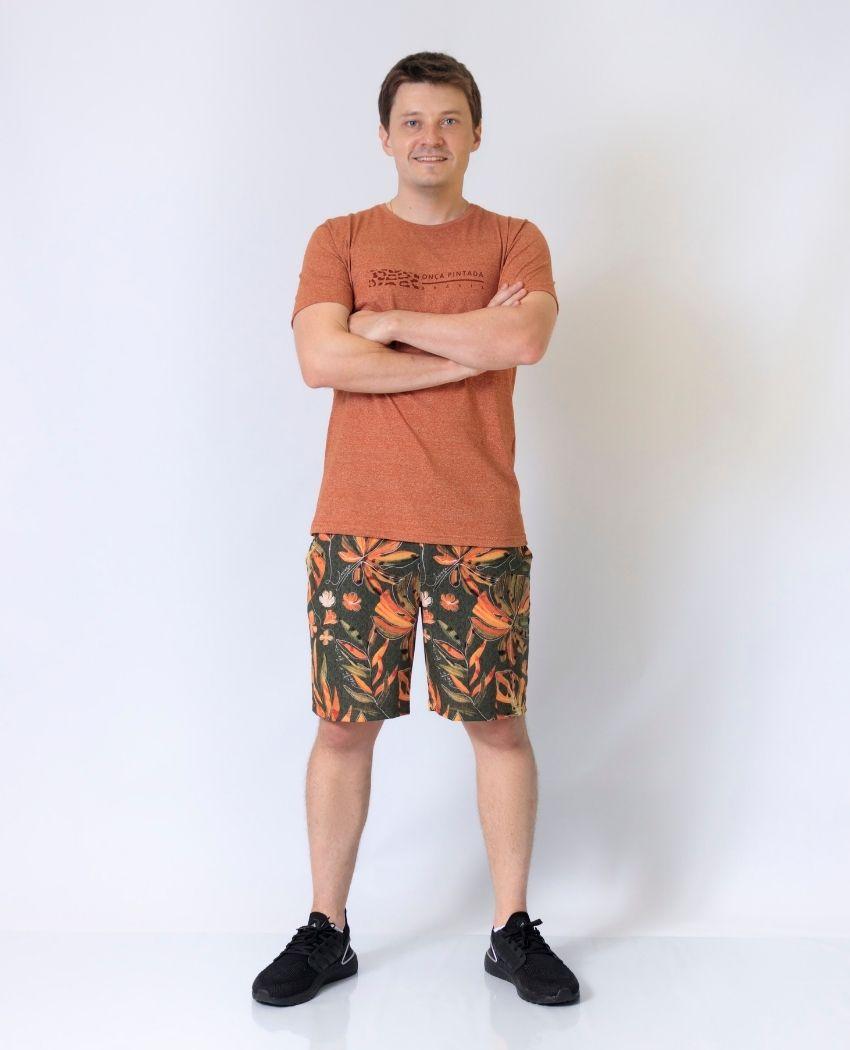 T-shirt Molinê Onça Pintada