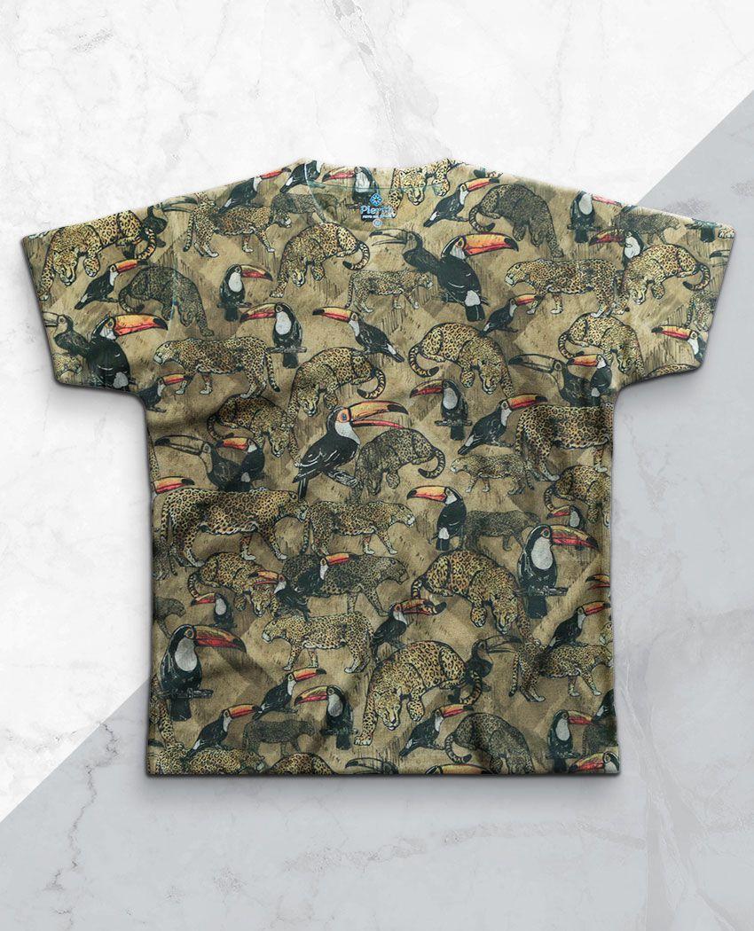 T-Shirt Onça e Tucanos