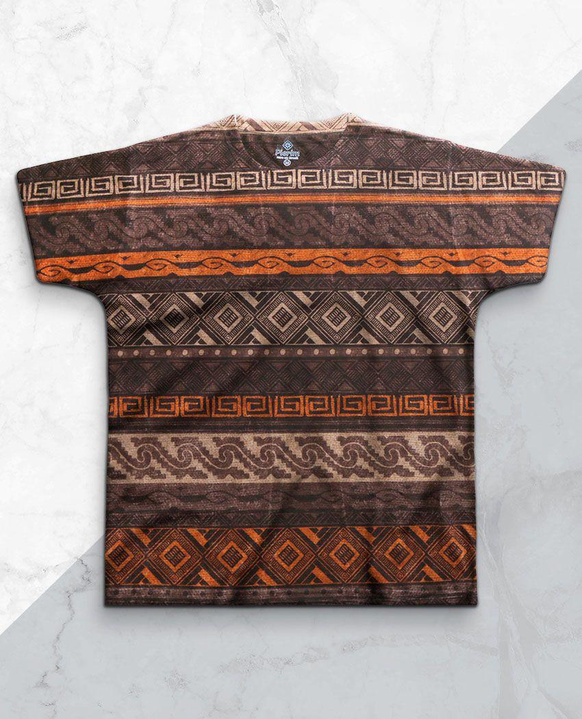 T-Shirt Tribal Terroso