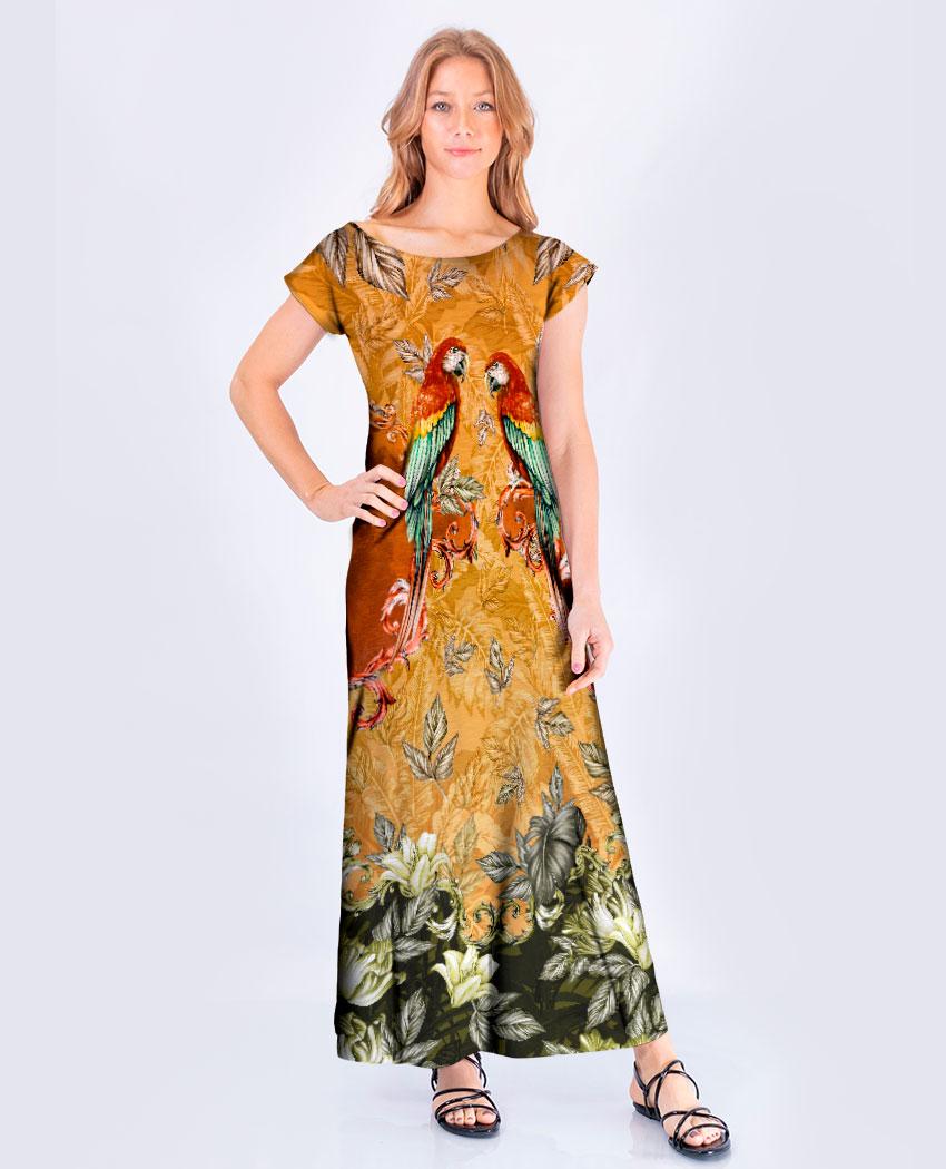Vestido Araras Majestosas