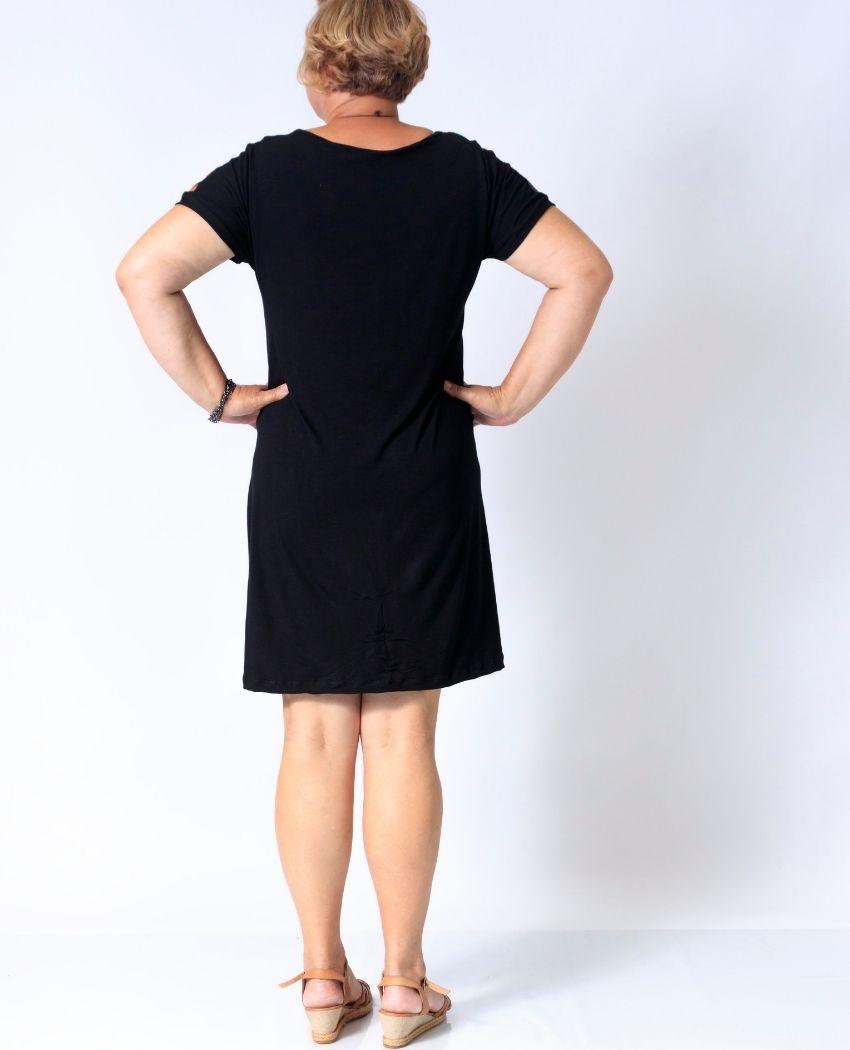 Vestido Cetim Varias Araras