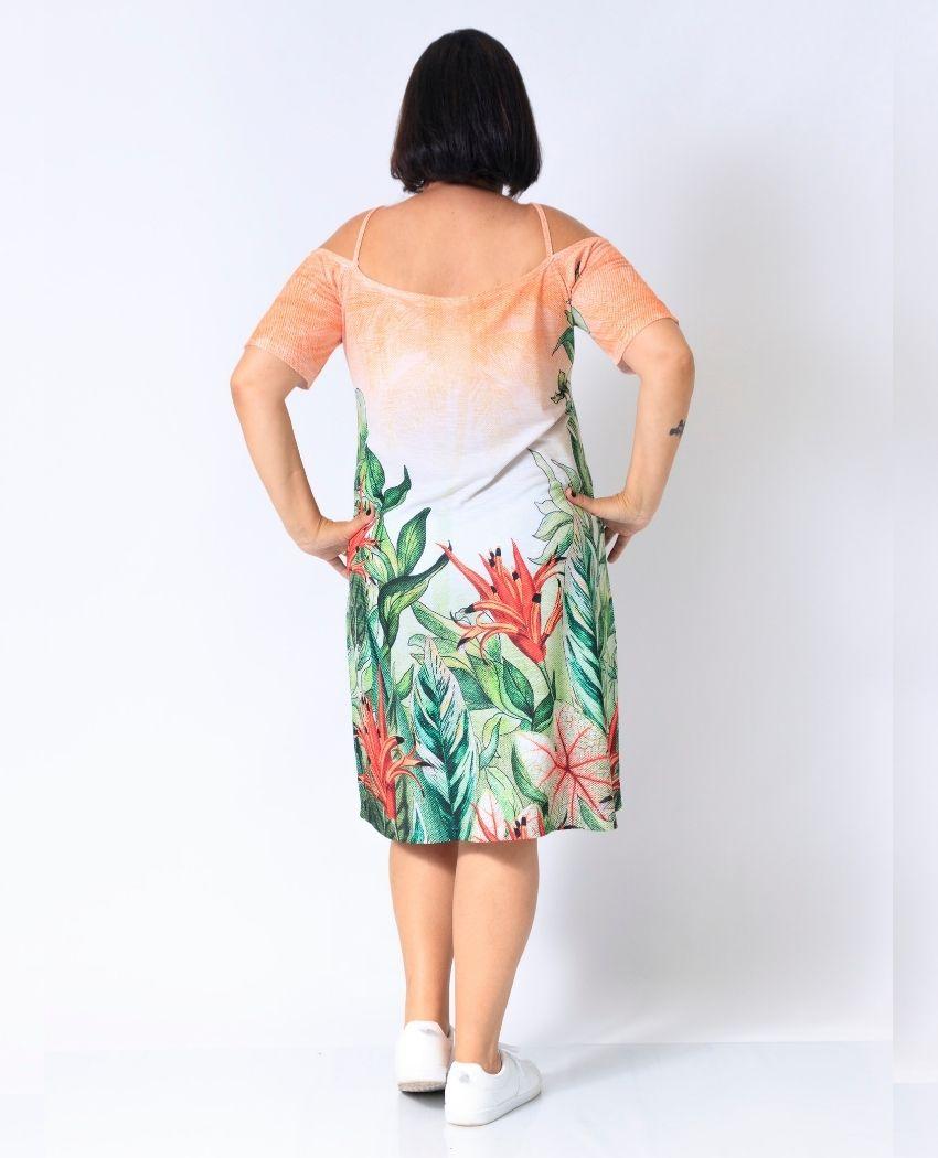 Vestido Ciganinha Flora Fresh