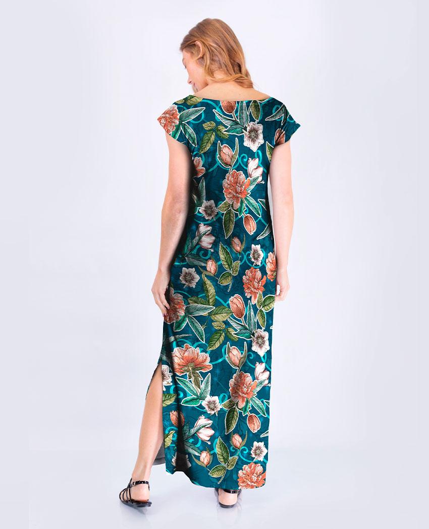 Vestido Flora Noite