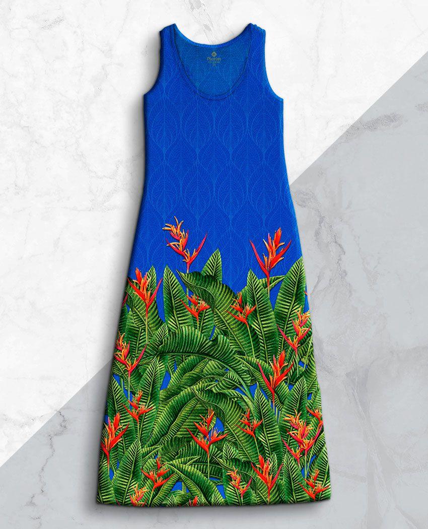Vestido Flores Bic