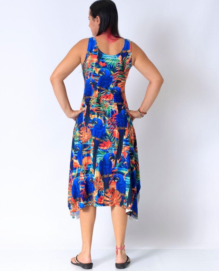 Vestido Midi Varias Araras