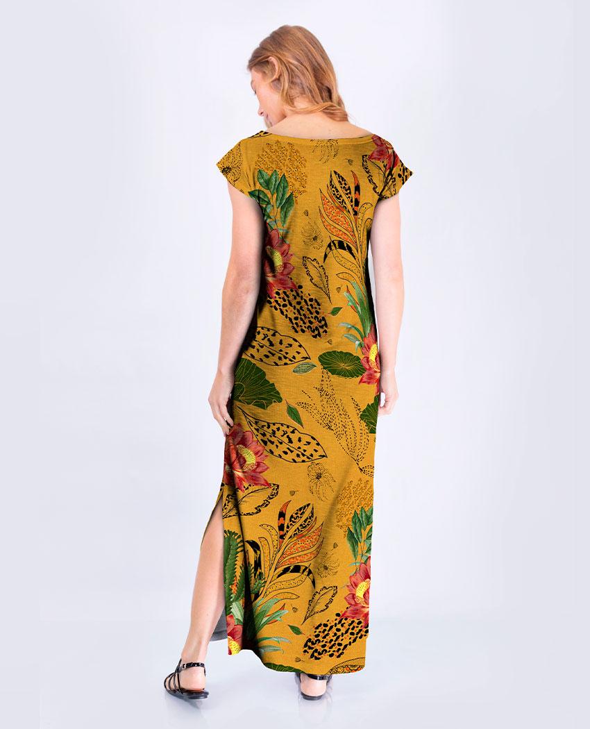 Vestido Flor de Lotus