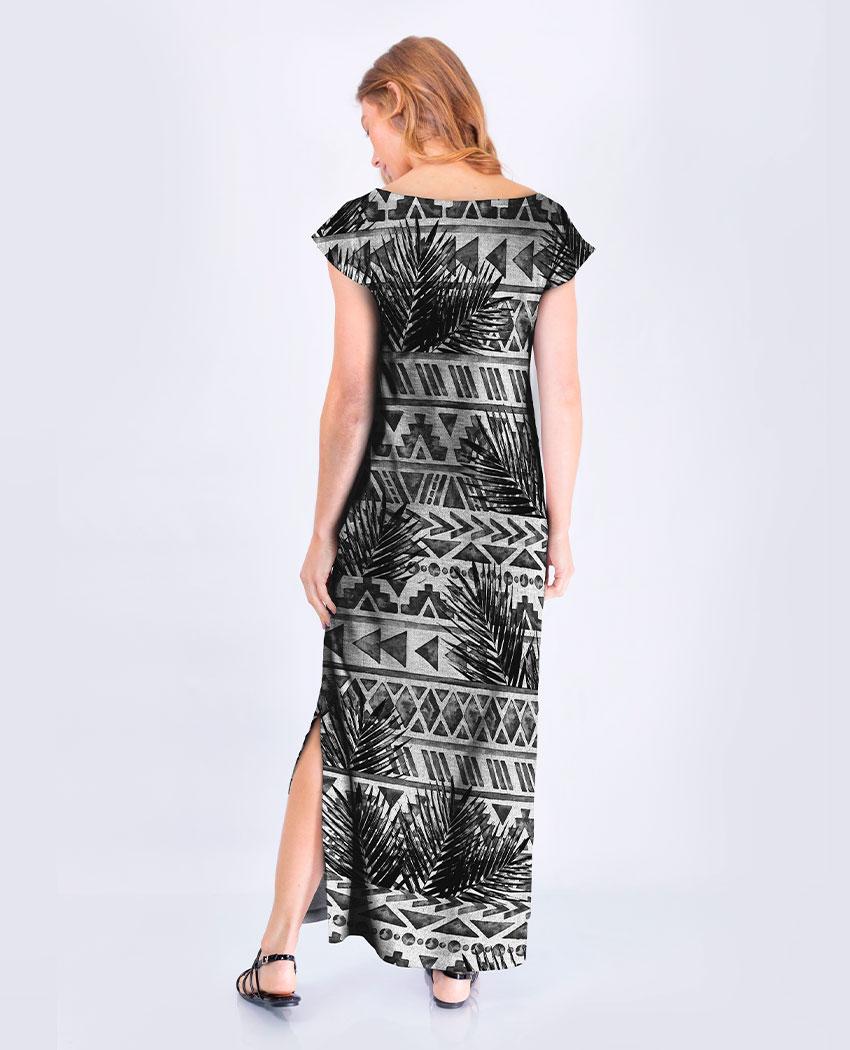 Vestido Tribal Coqueiros
