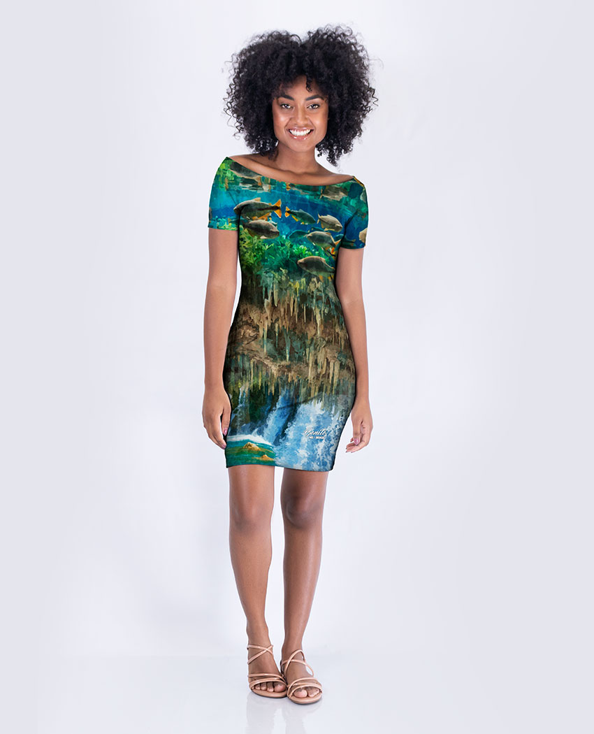 Vestido Tubinho Bonito MS