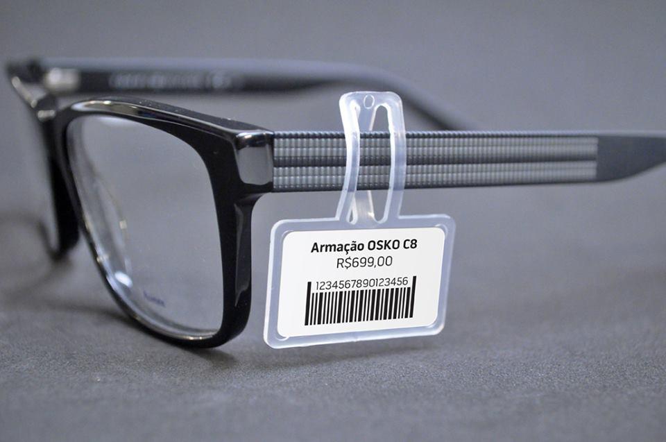 12.000 Peças - Suporte de etiqueta para óculos