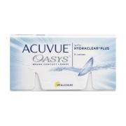 Acuvue Oasys com Hydraclear Plus - Embalagem com 6 lentes (3 pares) do mesmo grau