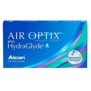 Air Optix Plus Hydraglyde - Embalagem com 6 lentes (3 pares) do mesmo grau
