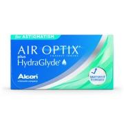 Air Optix Plus Hydraglyde para Astigmatismo - Embalagem com 6 lentes (3 pares) do mesmo grau