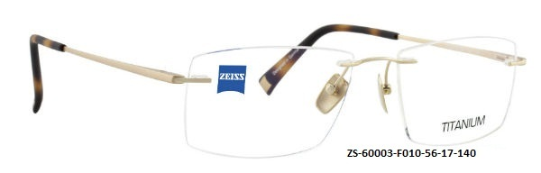 ZEISS EYEWEAR ZS60003 F010