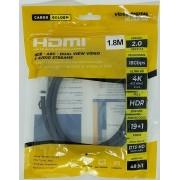 CABO DE VIDEO HDMI x HDMI PROFISSIONAL  2.0 (Golden) - CG