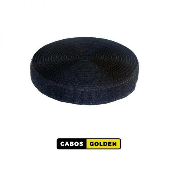 VELCRO P/ CABOS ROLO 20mm 2,5M - PT - AZ