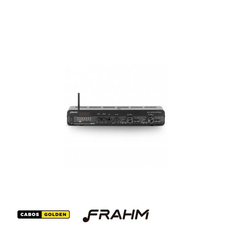 Amplificador - Receiver para Som Ambiente Frahm SLIM 2700 Optical Bluetooth