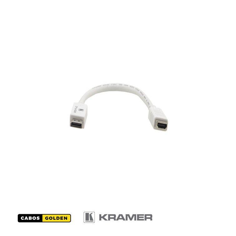 Cabo adaptador DisplayPort (M) to HDMI (F)