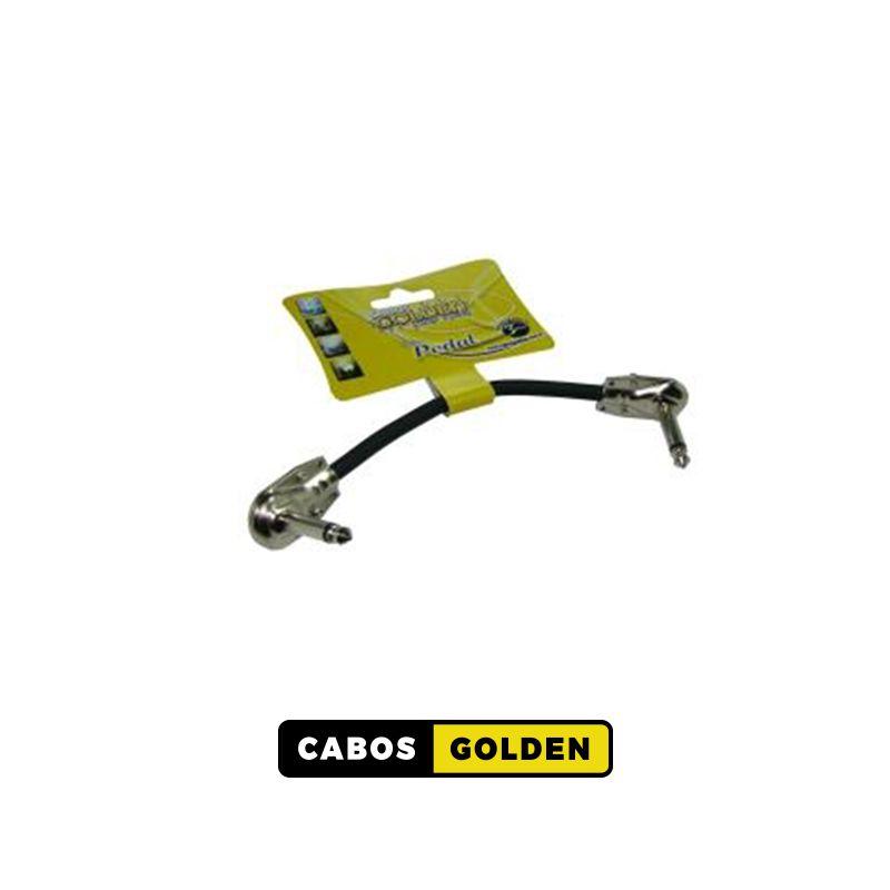 CABO DE PEDAL STANDARD P10 X P10 METAL / Dupla blindagem c/ Carbono Pedal