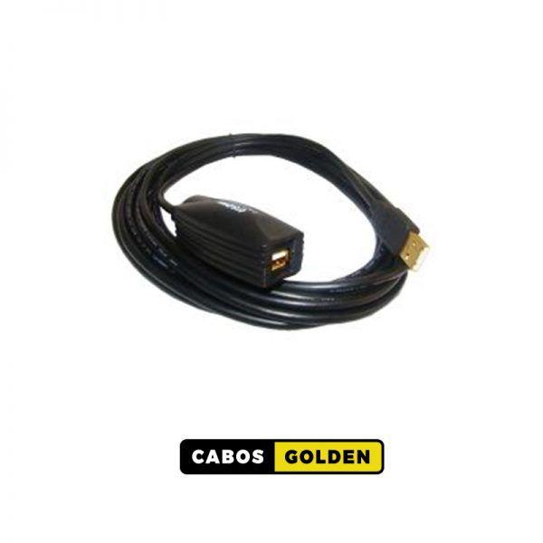 CABOS DE USB Cabo extensor USB A Macho x A Fêmea 2.0 Amplificado