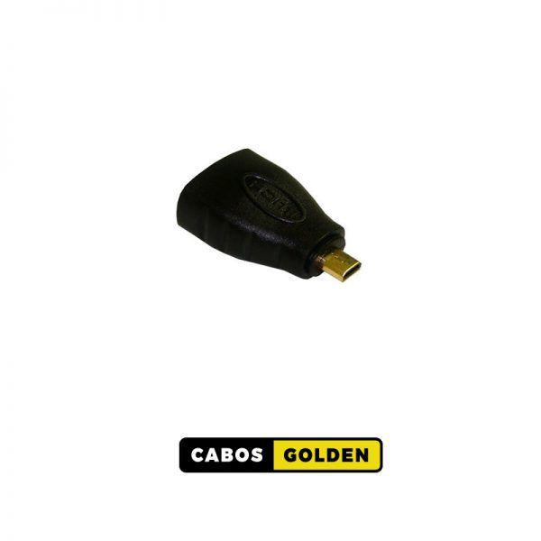ADAP. HDMI FÊMEA X MICRO HDMI MACHO
