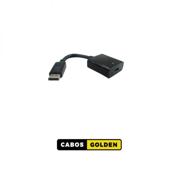 ADAP. DISPLAY PORT Macho X HDMI Fêmea